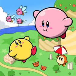 Kirby and Keeby by Sirometa