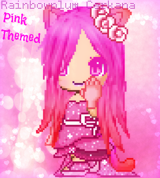 Fantage Pink Contest Entry for Hanny1551 :3 x333 by Rainbowplum-Cerkana