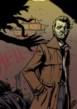 John Constantine, Hellblazer (Colours) by EllBalson