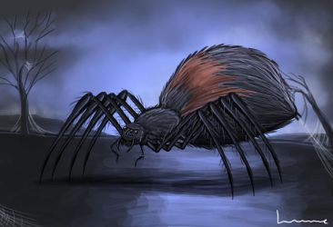 Giant Spider by Louisetheanimator