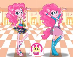 Pinkie Pie School Spirit Dress Up by heglys