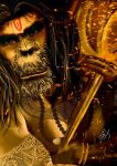 Lord Hanuman by vinigal123