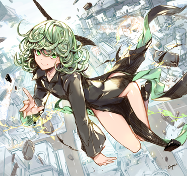 One punch man- Tatsumaki by empew