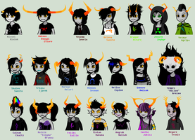 Other Troll Talksprites by SavannaEGoth