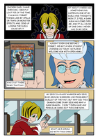 YuGiOh Azure Shadows C01 page03 Let's Duel! by DarkHedgehog23