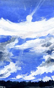 Cloud Study by mcah