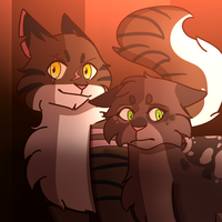 Tigerstar And Tawnypaw by Microwaved-Soda