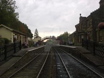 Goathland Station Study 5 by MajorMagna