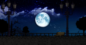 Maplestory Background | Night View by Stxrrie