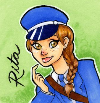 Lovely Rita, Meter Maid by taeha