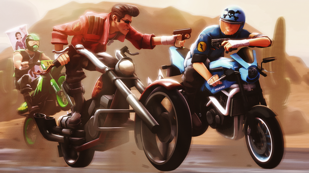 TF2 - Freeway Jousting by BrolyNo1Consorter