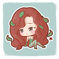 [Commission] Poison Ivy by Kelsa20