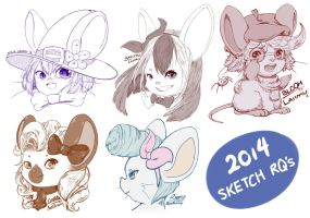 2014 Sketches by Serufia