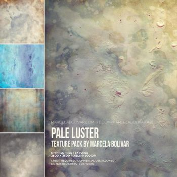 Pale luster - texture pack by MarcelaBolivar