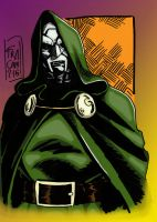 Victor Von Doom collab by hellbat