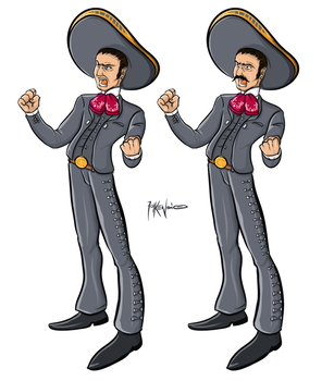 Charro Illustration by folkensioner