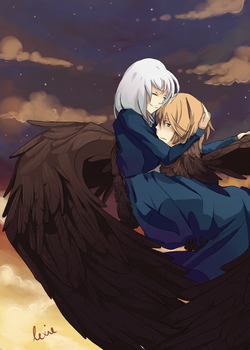 Sophie And Howl by Rejuvenesce
