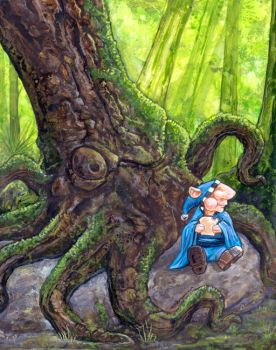 The Squid Tree by ursulav