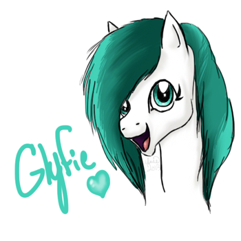 {OC} Glyfie by Equide--Designs