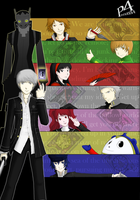 :: Persona 4 :: by vikifanatic