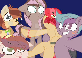 Squad Selfie by JustcallmeScaizor