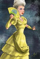 Lady in Yellow Dress by tadamson