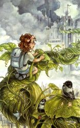 Jackie and the beanstalk by AnnPars