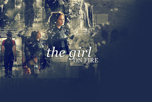 Katniss Everdeen Header by FallennHalo