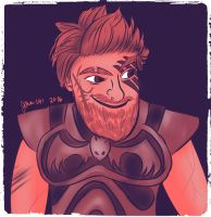 Dagur the Deranged in 85 by Jenni41