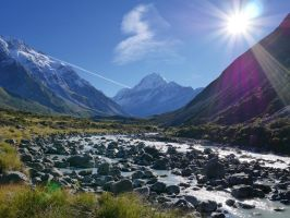 Mighty Mt. Cook by lmsgblh