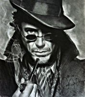 Sherlock Holmes Robert Downey Jr. by JAF-Artwork