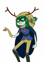 Huntress Wizard by nugginss