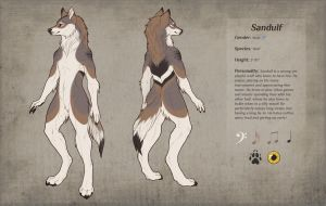 Sandulf Reference Sheet - commission by Kium