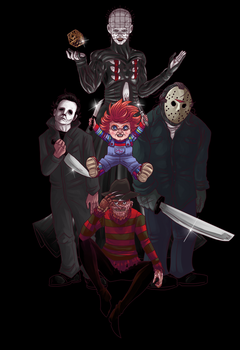 Five Horrors at Freddy's by TSoutherland