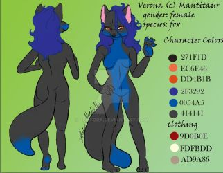 Verona character sheet by Zentora