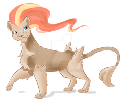 Pyroar Female by allocen