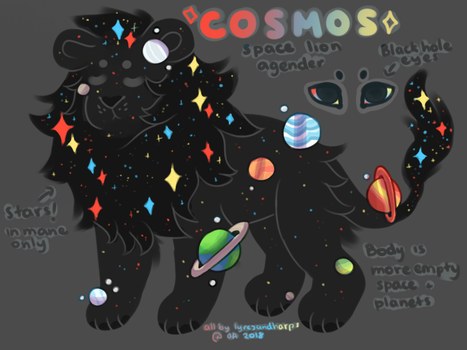 COSMOS / closed by lyresandharps