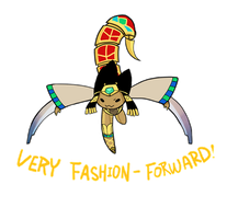 Smite - Very Fashion-Forward (Chibi) by Zennore