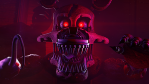 [SFM FNAF]-Jumpscare nightmare foxy by Dafomin