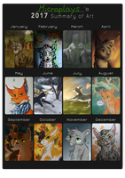 Art Summary 2017 by Micraplays