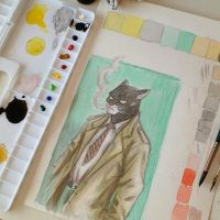 Blacksad by RafaConte