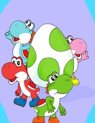 Yoshis by NeonCat22