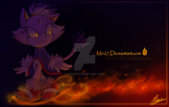 Path of flames by Mn27