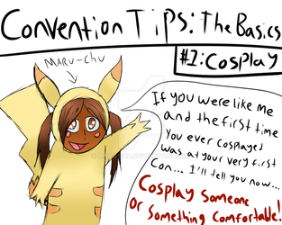 Anime Expo: Convention tips - Tip #1 by Maru-sha