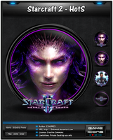 Starcraft 2 - Heart of the Swarm - Game Icon by 3xhumed
