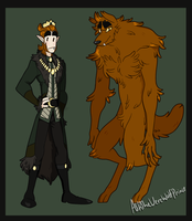 The Werewolf Prince- Lupe by Askthewerewolfprince