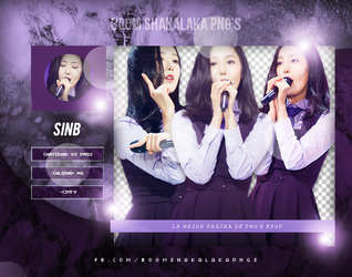PhotoPack PNG - SinB by SameOldLove