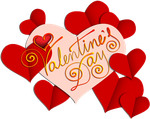 Valentines day beige and gold 300px by EXOstock