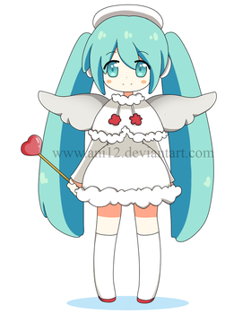 Miku Angel by ani12