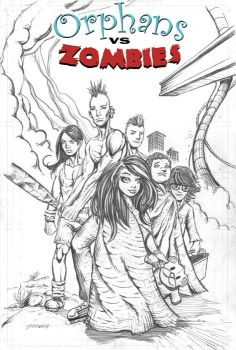Orphans vs Zombies promo by michaelstewart